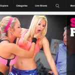 Popular pay xxx site for quality HD pornstars.