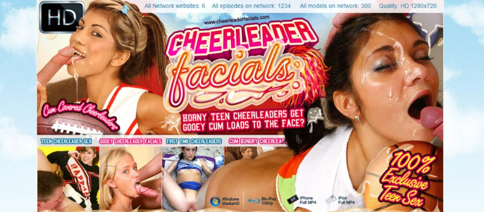 Cheerleader Facials