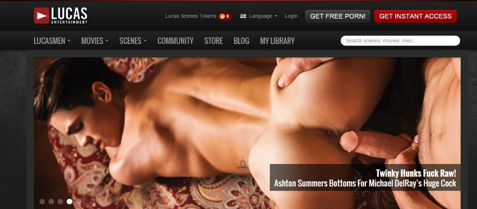 One of the best 10 premium gay oriented porn sites