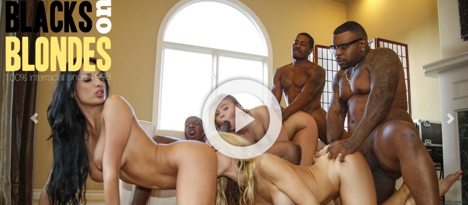 Great membership adult website offering awesome interracial material