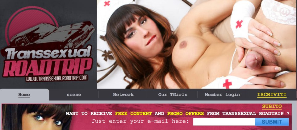 Great pay adult website with hot tranny material