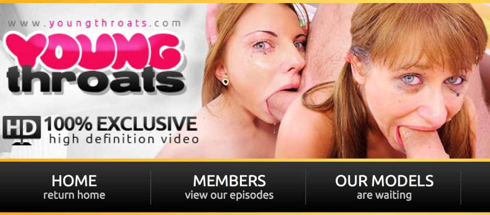Great membership porn site to watch some fine deepthroat Hd porn videos
