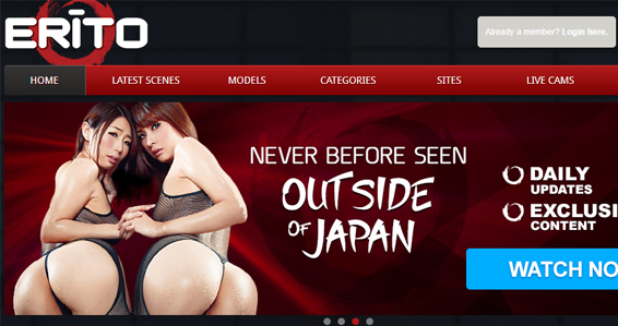 Popular Asian porn site for sexy models