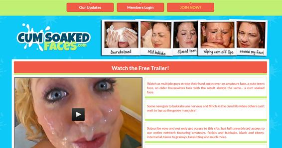 Awesome bukkake porn site if you like facial cumshot videos