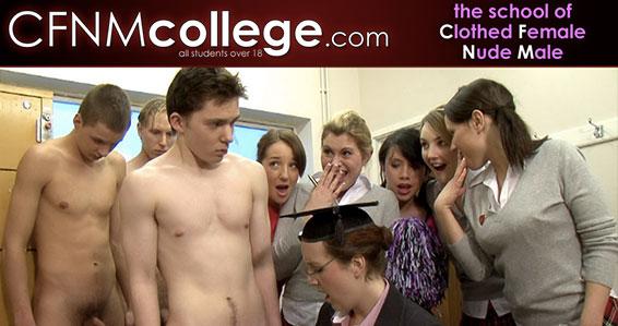 Top adult website to enjoy some class-A CFNM HD videos