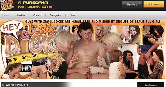 Top xxx site to get top notch CFNM flicks