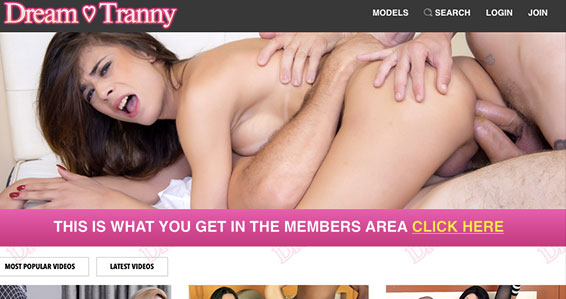 Most popular adult site if you're up for awesome tranny material