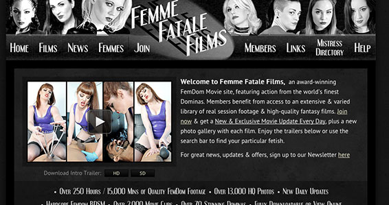 Top adult website to access some fine fetish videos