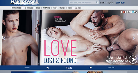 Great premium site offering hot gay content