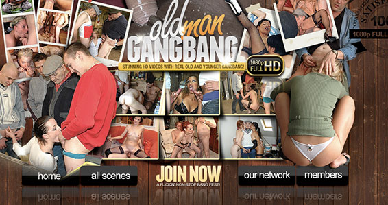 Most popular adult website featuring hot gangbang flicks