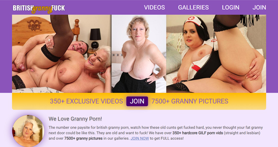 Nice British adult site where you can watch granny xxx videos.