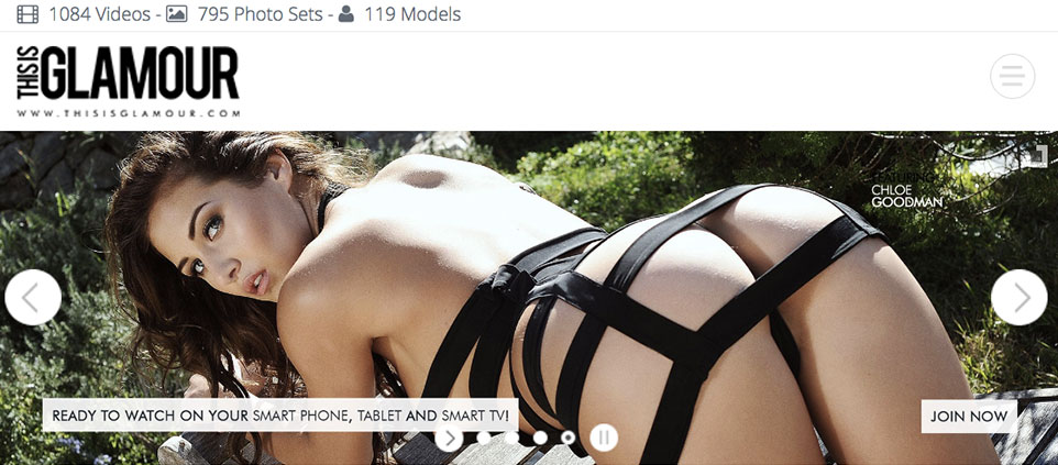Glamour porn sites